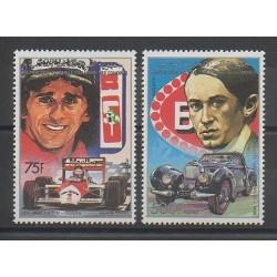 Comoros - 1988 - Nb 488/489 - Cars - Various sports