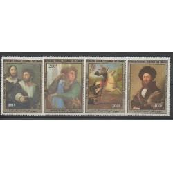 Comores - 1983 - No 404/407 - Peinture
