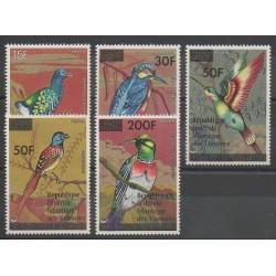 Comores - 1979 - No 269/273 - Oiseaux