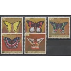 Comores - 1978 - No 220/224 - Insectes