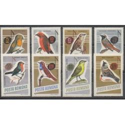 Roumanie - 1966 - No 2211/2218 - Oiseaux
