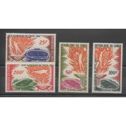 Congo (République du) - 1964 - No PA21/PA24 - Jeux Olympiques d'été