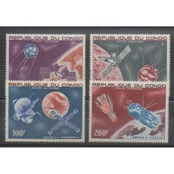 Congo (Republic of) - 1967 - Nb PA55/PA58 - Space