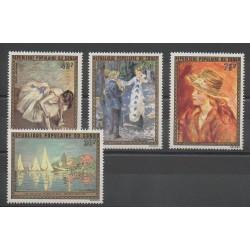 Congo (République du) - 1974 - No PA198/PA201 - Peinture