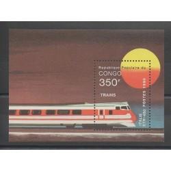 Congo (République du) - 1991 - No BF48B - Trains