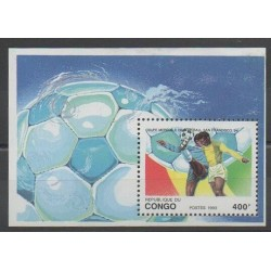 Congo (Republic of) - 1993 - Nb BF57 - Soccer World Cup