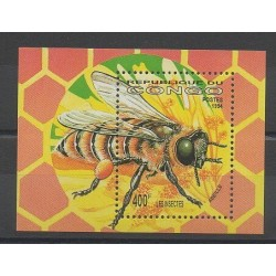 Congo (Republic of) - 1994 - Nb BF61 - Insects