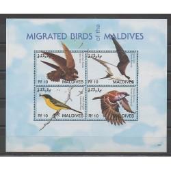 Maldives - 2007 - No 3777/3780 - Oiseaux