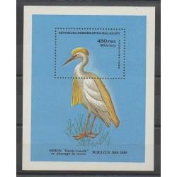 Madagascar - 1986 - No BF36 - Oiseaux