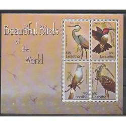 Lesotho - 2007 - No 1896/1899 - Oiseaux