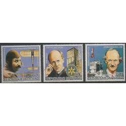 Tchad - 1985 - No PA291/PA293 - Célébrités