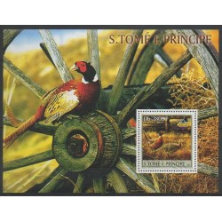 Saint Thomas and Prince - 2003 - Nb BF214 - Birds