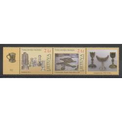 Lituanie - 2007 - No 818/819 - Art - Échecs