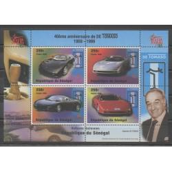 Sénégal - 1998 - No 1313/1316 - Voitures