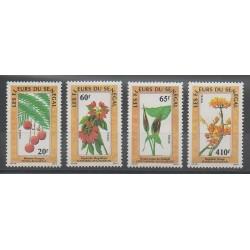 Sénégal - 1988 - No 781/784 - Fleurs