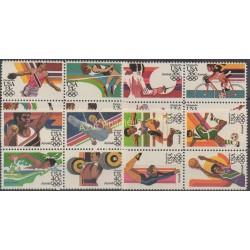 United States - 1983 - Nb 1487/90 - PA 95 / PA 106 - Summer olympics