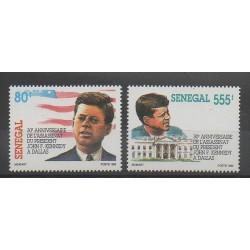 Sénégal - 1994 - No 1065/1066 - Célébrités