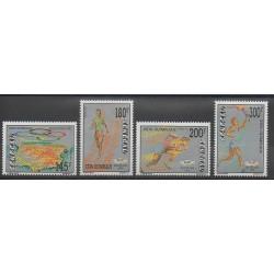 Sénégal - 1992 - No 989/992 - Jeux Olympiques d'été