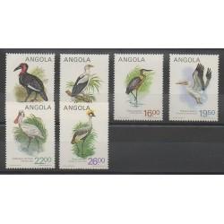Angola - 1984 - No 689A/689F - Oiseaux