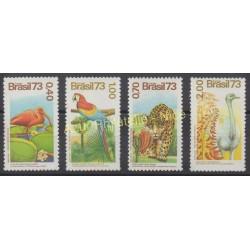 Brazil - 1973 - Nb 1084/1087 - Birds
