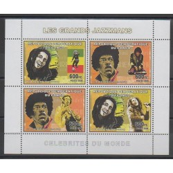 Congo (Democratic Republic of) - 2006 - Nb 1797/1800 - Music