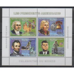 Congo (Democratic Republic of) - 2006 - Nb 1765/1768 - Celebrities