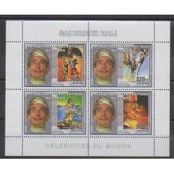 Congo (République démocratique du) - 2006 - No 1745/1748 - Peinture