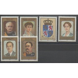 Luxembourg - 1990 - Nb 1203/1208 - Royalty