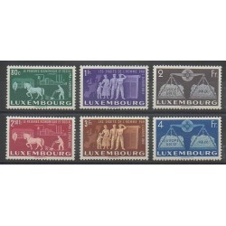 Luxembourg - 1951 - Nb 443/448 - Europe