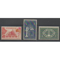 Luxembourg - 1956 - Nb 511/513 - Europe