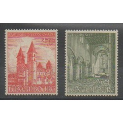 Luxembourg - 1953 - No 473/474 - Églises