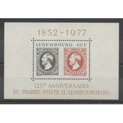 Luxembourg - 1977 - Nb BF10 - Stamps on stamps