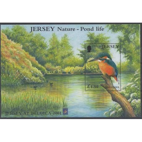 Jersey - 2001 - No BF 36 - Oiseaux