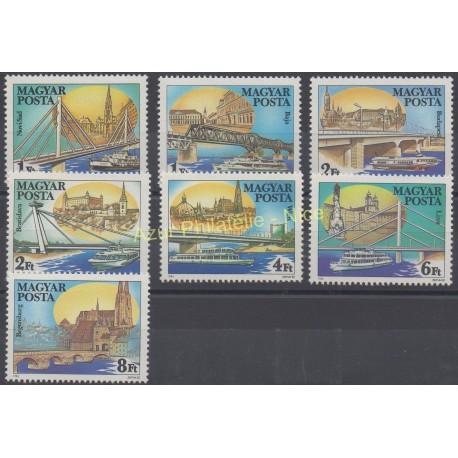 Hongrie - 1985 - No 2959/2965 - Bateaux