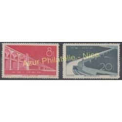 China - 1957 - Nb 1103/1104 - Bridges