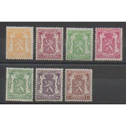 Belgium - 1945 - Nb 710/715