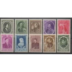 Belgique - 1941 - No 573/582