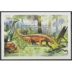 Centrafricaine (République) - 1998 - No BF154 - Animaux préhistoriques