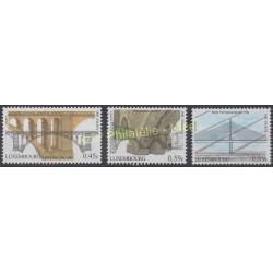 Luxembourg - 2003 - Nb 1554/1556 - Bridges