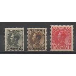 Belgique - 1934 - No 401/403