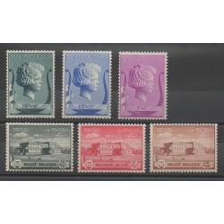 Belgique - 1940 - No 532/537