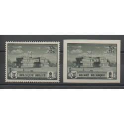 Belgium - 1941 - Nb 537A/537B - Monuments