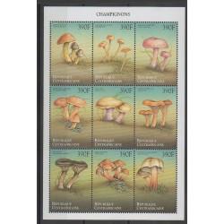 Centrafricaine (République) - 1999 - No 1618K/1618T - Champignons