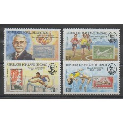 Congo (République du) - 1987 - No PA375/PA378 - Jeux Olympiques d'été