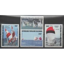 Congo (République du) - 1984 - No PA325/PA328 - Bateaux - Jeux Olympiques d'été