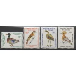 Congo (République du) - 1978 - No PA239/PA242 - Oiseaux