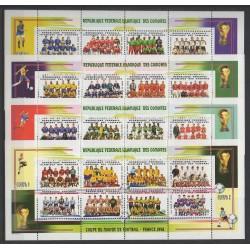 Comores - 1998 - No 707/738 - Coupe du monde de football