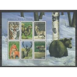 Comoros - 1999 - Nb 997/1002 - Endangered species - WWF