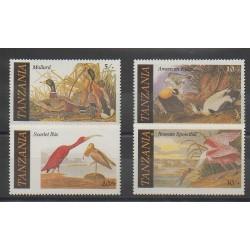 Tanzanie - 1986 - No 277/280 - Oiseaux