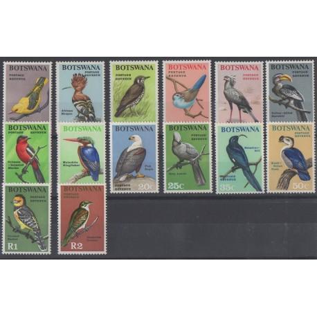 Botswana - 1967 - No 171/184 - Oiseaux
